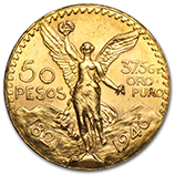 Gold 50 Pesos  (1947 & Prior)